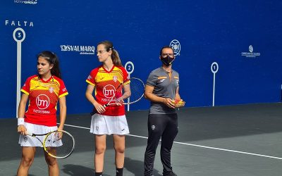 Spain, qualified for the semifinals of the women's frontenis in the World Cup