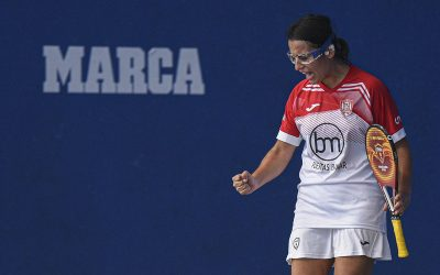 Spain, qualified for the men's and women's rubber paddle semis